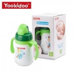 Поильник непроливайка термос детский. Зеленый