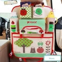 Органайзер для автомобиля, детский, красный. Пикник.