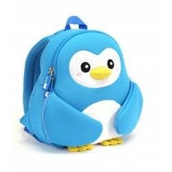 Рюкзак пингвин Nohoo, голубой.