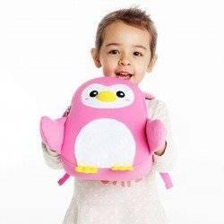 Рюкзак пингвин Nohoo, розовый.