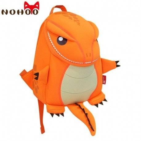 Динозавр большой оранжевый