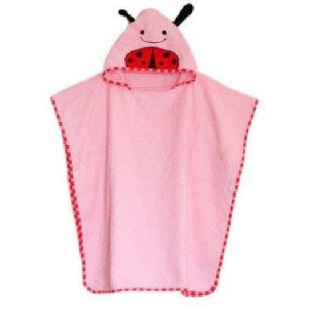 Детское полотенце пончо Skip Hop Zoo. Божья коровка.