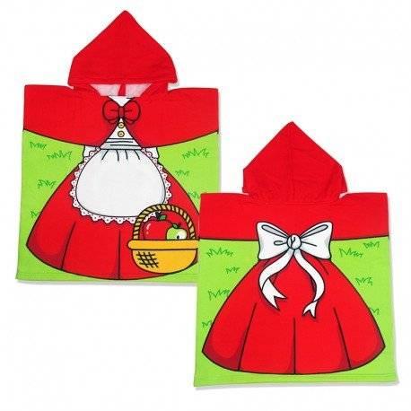 Полотенце пончо, Красная шапочка