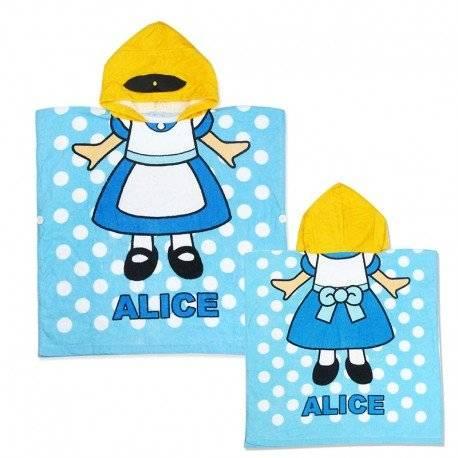 Полотенце пончо для девочки, Алиса