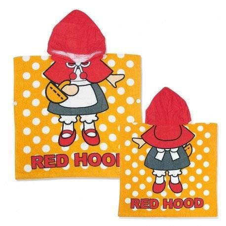Полотенце махровое для девочки, Красная шапочка.