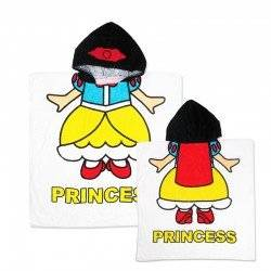 Полотенце пончо для девочки, Принцесса.