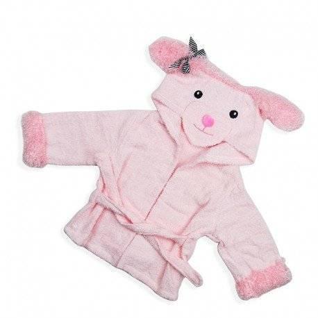 Халат детский, розовый, для девочки.