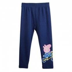 Лосины, брюки для девочки «Peppa синие»