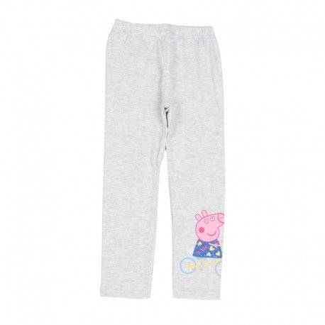 Лосины, брюки для девочки «Peppa серые»