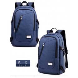 Городской рюкзак для ноутбука. Синий