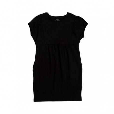 Платье для девочки, черное «Элегант»