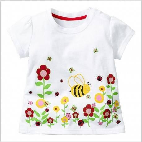 Футболка для девочки «Пчелка»