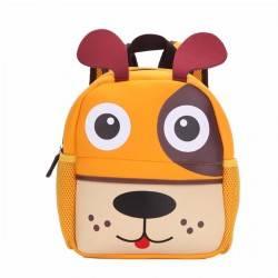 Детский рюкзак Щенок, коричневый.