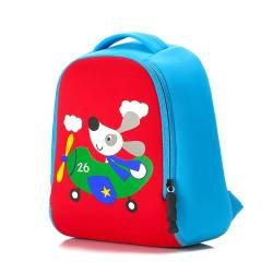 "Детский рюкзак ""Собачка"", синий."