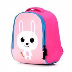 """Детский рюкзак """"Зайка"""", розовый."""