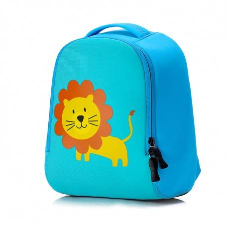 "Детский рюкзак ""Лев"", синий."