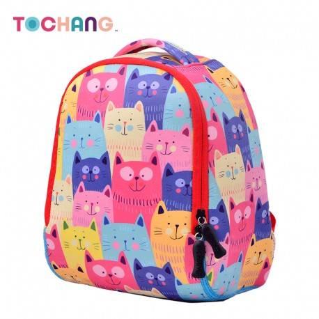 """Детский рюкзак """"Кошечки"""", розовый."""