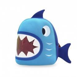 """Рюкзак Nohoo. """"Акула"""" синяя."""