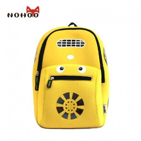 """Рюкзак """"Тачки"""" желтый."""