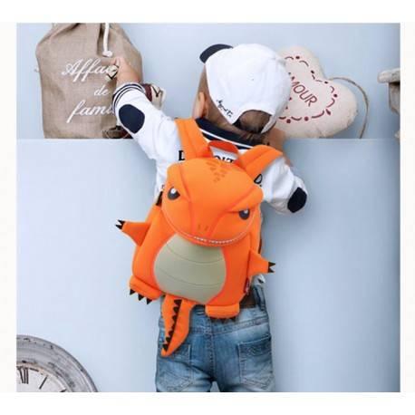 """Рюкзак """"Динозаврик"""" оранжевый."""