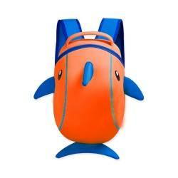 """Рюказк """"Дельфин"""" оранжевый."""