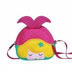 Детская сумка. Русалочка Nohoo розовая.