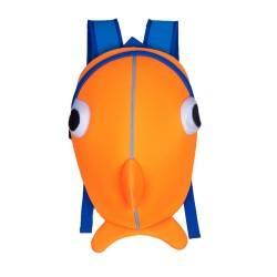"""Рюкзак Nohoo. """"Рыбка"""" оранжевая."""
