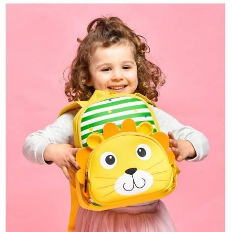 """Детский рюкзак """"Львенок"""", желтый."""