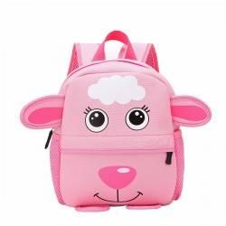 Детский рюкзак, розовый. Овечка.