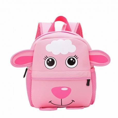 """Детский рюкзак """"Барашек"""", розовый."""