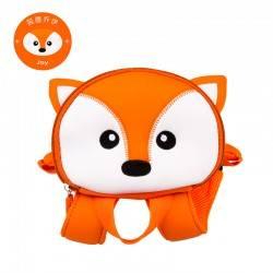 Рюкзак детский, оранжевый. Лиса.