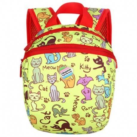 "Детский рюкзак ""Кися"", желтый."