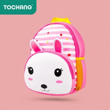 """Детский рюкзак """"Зайчик"""", розовый."""