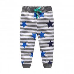 Детские штаны, серые. Звезды