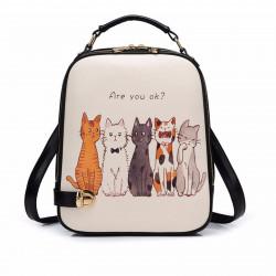 Рюкзак городской для девочки. Cat.