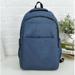 Рюкзак городской, школьный, мужской. Синий.