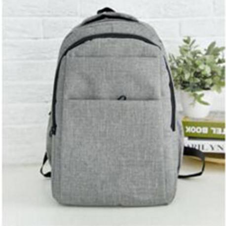 Рюкзак гордской, школьный, мужской, женский. Серый.