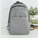 Рюкзак городской, школьный, мужской, женский. Серый.