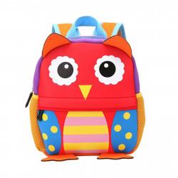 Детский рюкзак, для девочки. Веселая сова. Большой.