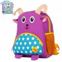 Детский рюкзак, фиолетовый. Козерог. Знаки зодиака.