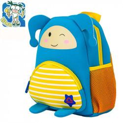 Детский рюкзак, синий. Весы. Знаки зодиака.