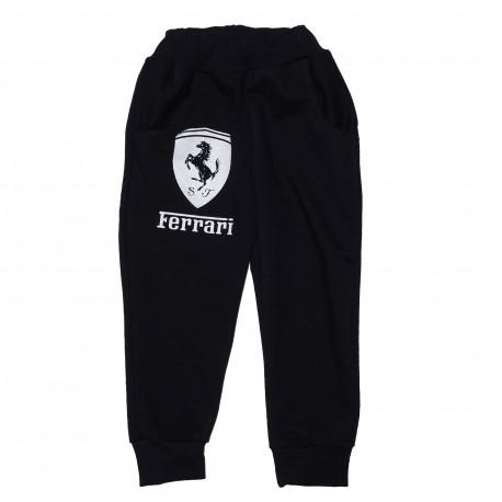 Спортивные штаны, для мальчика, черные.