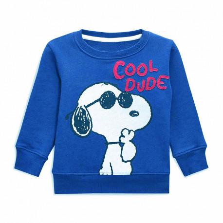 Кофта для мальчика, синяя. Snoopy.