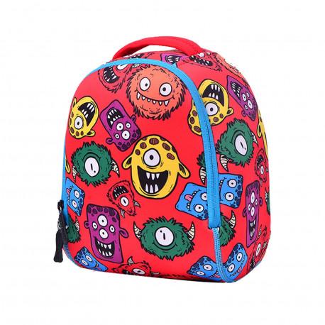 Детский рюкзак, красный Gadzilla (S).