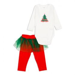 Комплект для девочки, нарядный. Christmas tree.
