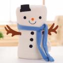 Новогодний плед, детский, 75*100. Snowman