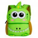 Детский рюкзак, зеленый. Дракончик.