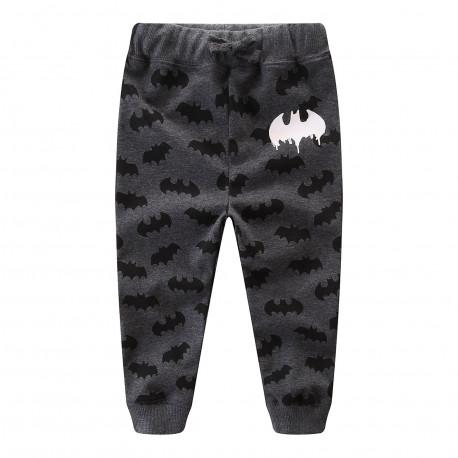 Штаны для мальчика, черные. Бэтман.