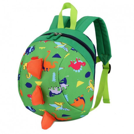 """Детский рюкзак """"Динозавр"""", зеленый."""