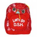 Рюкзак детский, красный. Космос.